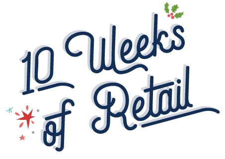 10 Weeks of Retail logo