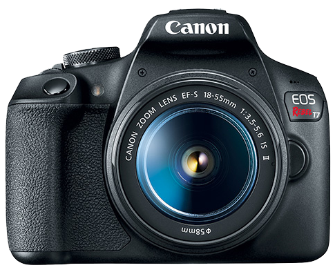 Canon EOS Rebel T7 Camera
