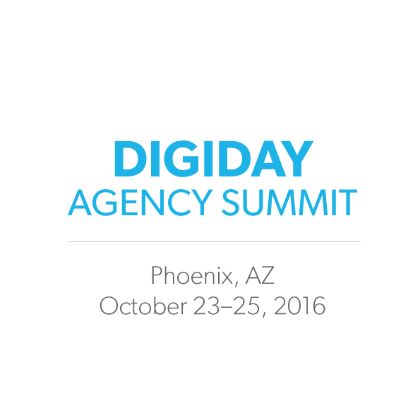 Digiday Agency Summit logo