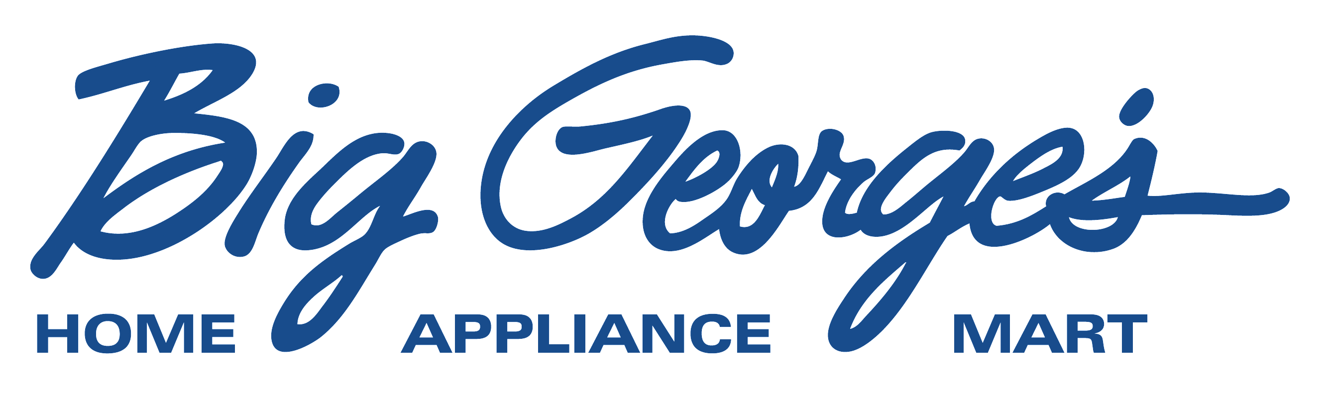 Big George's Home Appliance Mart Logo