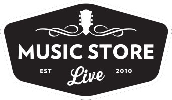 Music Store Live Logo